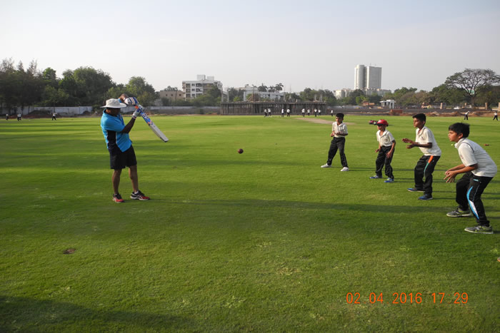 Catching Practise