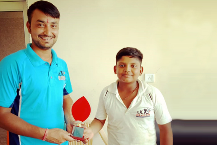 Best Batsman - Vansh Patel